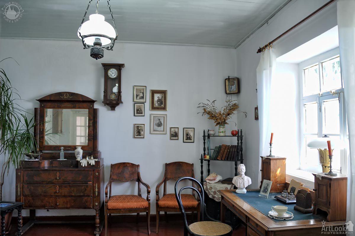 Chekhov's Work Cabinet in Gurzuf Dacha