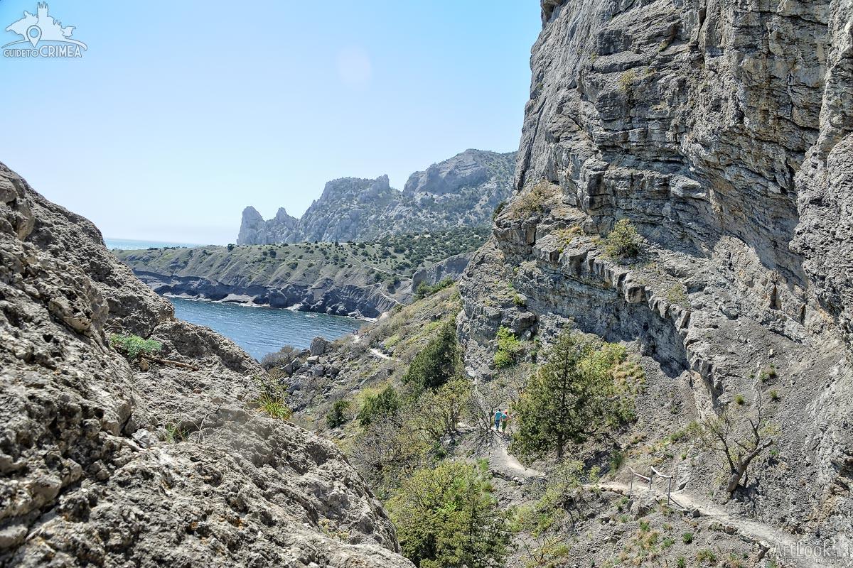 The Trail Golitsyn - Walk Way Between Rocks