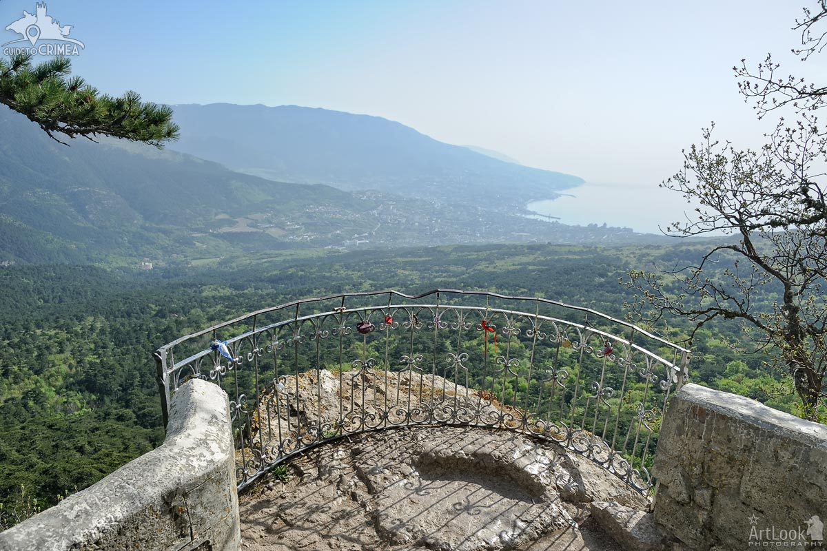 Panorama of Yalta Bay from Silver Arbor