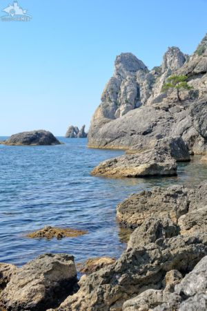 Rocks in Golubaya Buhta (Blue Bay), Novy Svet