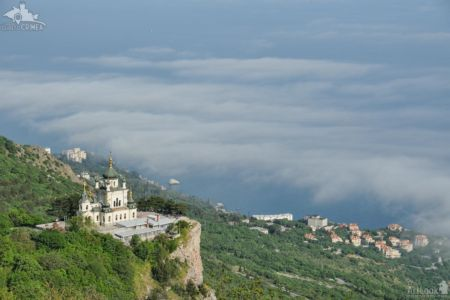 Foros Church Over the Clouds