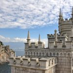 "Sailing in the Sea - Neo-Gothic castle ""Swallow's Nest"" in Gaspra"